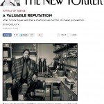 Turning Science into a Circus: The New Yorker, Rachel Aviv and Tyrone Hayes